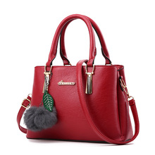 Women Bag Pu Leather Tote Brand Name Bag Ladies Handbag Lady Evening Bags Solid Female Messenger Bags Travel Fashion(China)