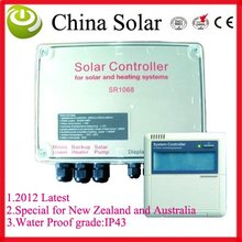 water proof solar water heater controller SR1068 110V or 220V,split pressurized water heating system controller