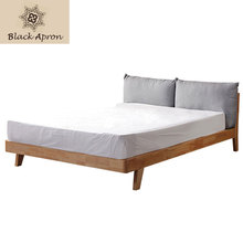 Modern Solid Wood Bed Letto Bedroom Furnitures China Camas Muebles De Dormitorio Bed Frame W323(China)