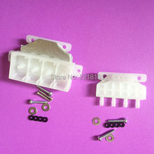 4pcs/lot 5113 printhead transfer device for water based solvent printer spare parts(China)