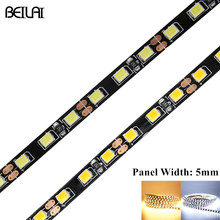 DC 12V 2835 SMD Fita LED Strip 5M 600LED Not Waterproof Flexible Tira LED Light Neon Tape 5mm Width Panel Luz For Christmas(China)