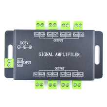 LED music amplifier WS2812B WS2811 1903 voice control music LED controller amplifier 5V