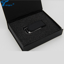 Trangee Leather Pendrive 4GB 8GB 16GB 32GB USB flash drive USB 2.0 Flash Memory Stick Pen Drive with Black Gift Box(China)