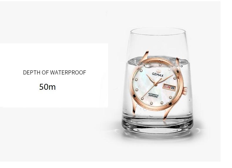 GEMAX Women Watches Waterproof Automatic Mechanical Watch Ladies Fashion Top Brand Diamond Calendar Ceramic Sapphire MIYOTA 2017 (11)