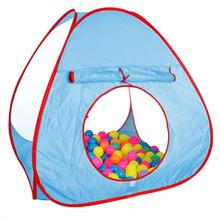 Portable Children's tent Outdoor Folding ball pool baby kids Toys Tent teepee tipi Castle House For children Christmas Gift(China)