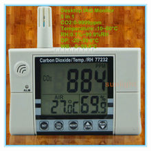 Multi-function Wallmount CO2 Monitor CO2, Temperature, RH, DP, WB 5 in 1 with 0-9999ppm Carbon Dioxide Measuring Range(China)