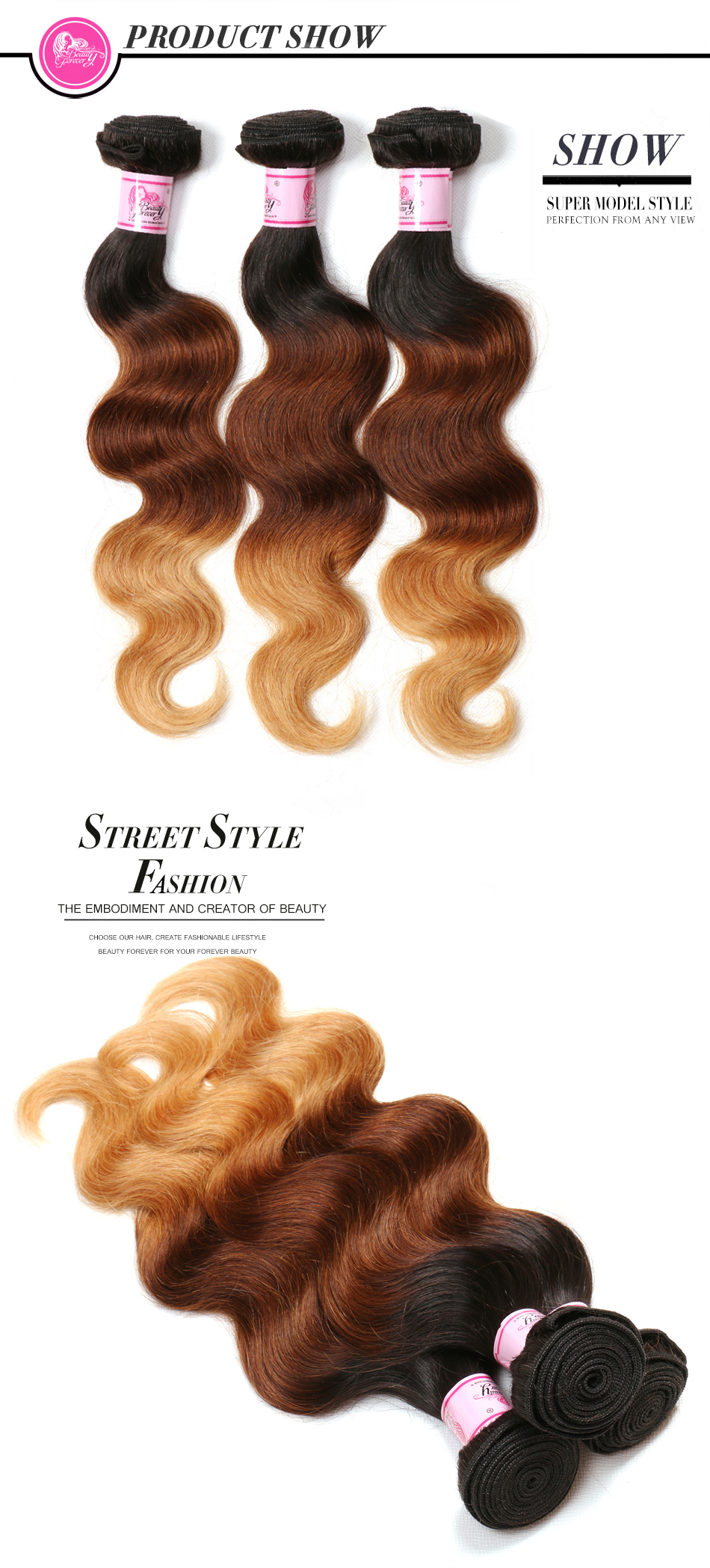 ombre Peruvian hair (2)