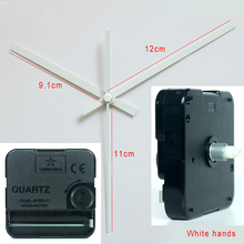 Shinfuku wall clock mechanism with 18# hands Silent Plastic Movement DIY Clock Accessory kits Sweep Quartz Movement TS-631E-B1