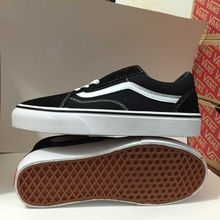 Free shipping Vans Old Skool low-top classics Unisex men's Sneakers Shoes canvas Shoes vans shoes size 40-44(China)