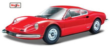 Maisto Bburago 1:24 246 GT Diecast Model Car Toy New In Box Free Shipping