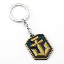 10/pcs World of Warships Key Chain WOWS Key Rings For Gift Chaveiro Car Keychain Jewelry Game Key Holder Souvenir YS11066