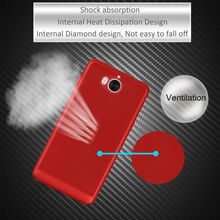 For Huawei Y5 2017 Matte Rubberized Anti-skid Rubber Full Body Net Cover Case For Huawei Y5 II Shell Funda Coque Capa(China)