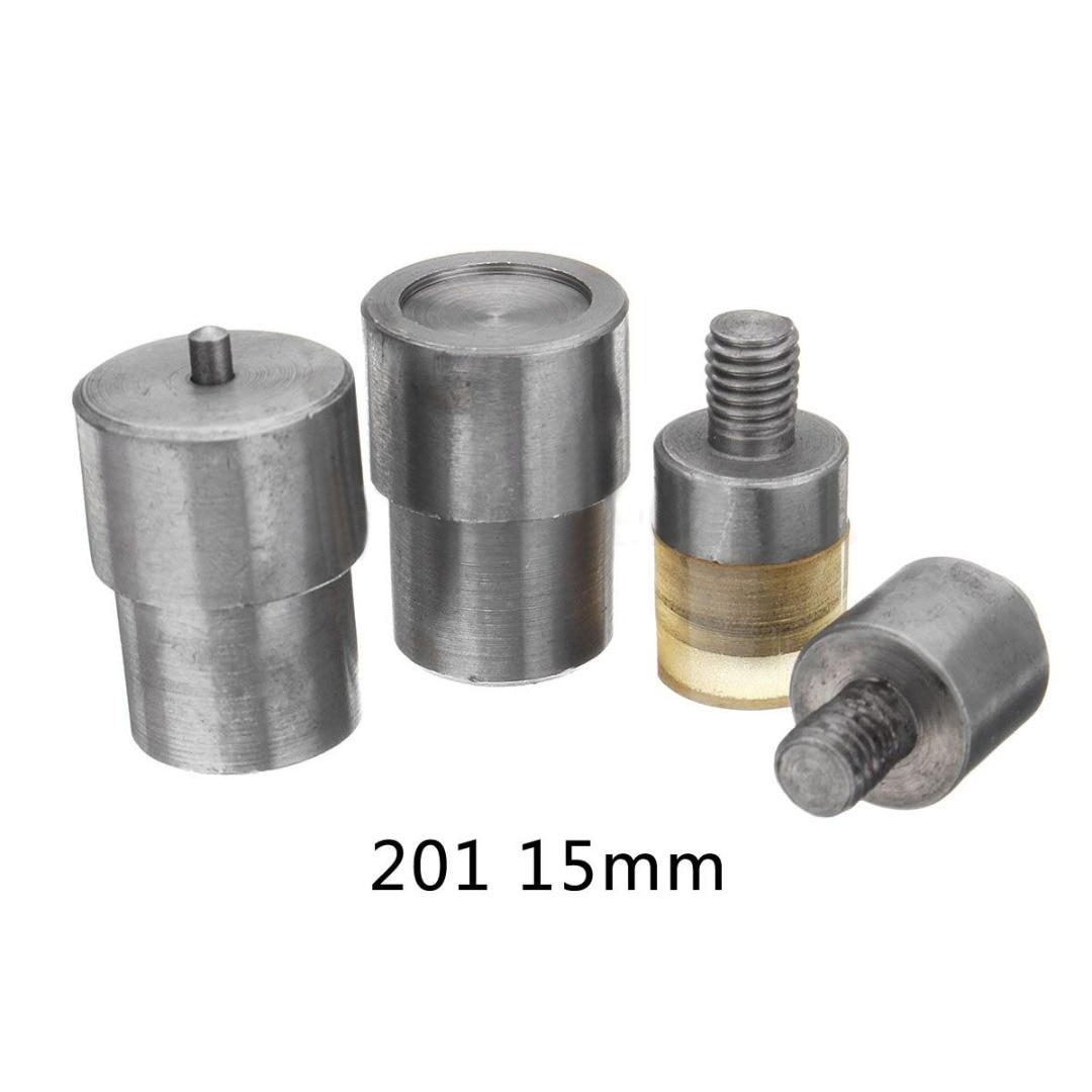 1set Manual Claw Clasp Snap Fastener Dies Hand Pressure Pressing Clamp Machine Tool 9.5-15mm Pressure Pressing Clamp