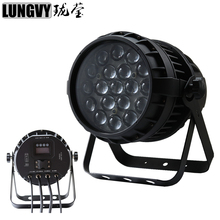 Free Shipping 19x12w RGBW 4IN1 Zoom Led Par Light Outdoor Led Par Cans IP65 DMX512 Led Par Stage Lighting