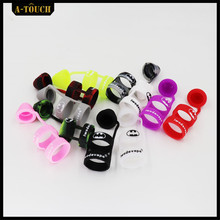 Buy 2Pcs/Bag Dicyclic Silicone Vape Band Drip Tip Caps 25MM Diameter Double Circles Vape Rings RDTA Atomizer Tank E Cigarette for $3.75 in AliExpress store