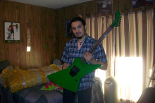 2015 New + Factory + Green James Hetfield ESP explorer electric guitar ESP custom shop guitar esp mx220 explorer guitar