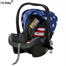 CH baby newborn baby luxurious car safety seats convertible baby cradle can be in stroller comfortable child safety seats(China)