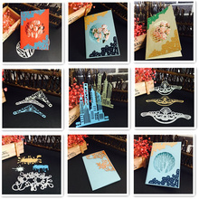 12 NEW DIY Scrapbooking Album Paper Card Decorative Customized Greeting card Embossing Template Metal Cutting Dies Stencil