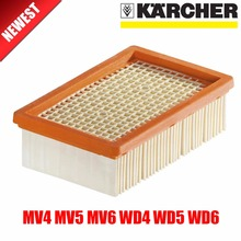 KARCHER Filter for KARCHER MV4 MV5 MV6 WD4 WD5 WD6 wet&dry Vacuum Cleaner replacement Parts#2.863-005.0 hepa filters(China)
