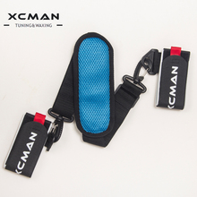 XCMAN Ski Carrier Straps BONUS- Shoulder Sling with Cushioned Velcro Holder - Protects Skis and Poles from Scratches and Damage(China)