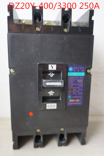 Molded case circuit breaker /MCCB/ air switch DZ20Y-400/3300 250A 3P variety of current optional<br>