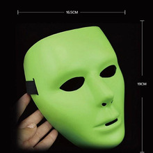 Halloween Props Plastic Full Face Jabbawockeez Dance Crew Costume Mask Party  FP8