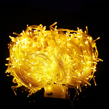 10M 20M 30M 50M 100M LED string Fairy light AC110V 220V holiday decoration Lights Waterproof outdoor light with controller(China)