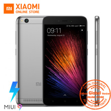 Global Version Xiaomi Redmi 5A 5 A Mobile Phone Snapdragon 425 Quad Core 2GB 16GB 5.0 Inch 13.0MP Camera 3000mAh MIUI 9 OTA CE(China)