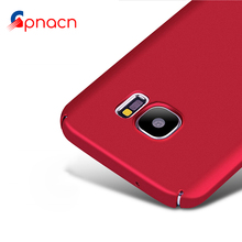 Luxury Hard PC Full Cover Matte Cases for Samsung Galaxy S6 S7 S8 Edge Plus Case For Samsung A3 A5 A7 J3 J5 J7 2016 2017 cases