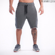 Buy Man Shorts Men's Short Trousers 2016 Casual Calf-Length Jogger Mens Shorts Sweatpants Fitness Man Workout Cotton Shorts for $12.59 in AliExpress store