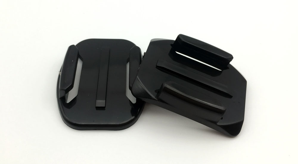 Peeynnt 4pcs Flat Curved Base Mount Adhesive Stickers for GoPro Hero 5 6 4 Xiaomi Yi 4K SJCAM SJ4000 for Gopro Accessories Set