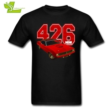 Hemi Engine 426 T Shirt Guys Newest Simple Tshirts Home Wear Normal T-Shirt Men's Summer Crew Neck Picture Teenboys Clothing(China)
