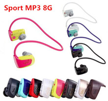 New Wholesale---8G MP3 player hot sale Music Player Sports MP3 Walkman for sony W series NWZ-W262 with gift bag free shipping