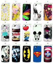 retail batman Captain America 15designs hybrid white hard cover cases for Sony Ericsson X12 LT15i Xperia Arc S LT18i free shipp