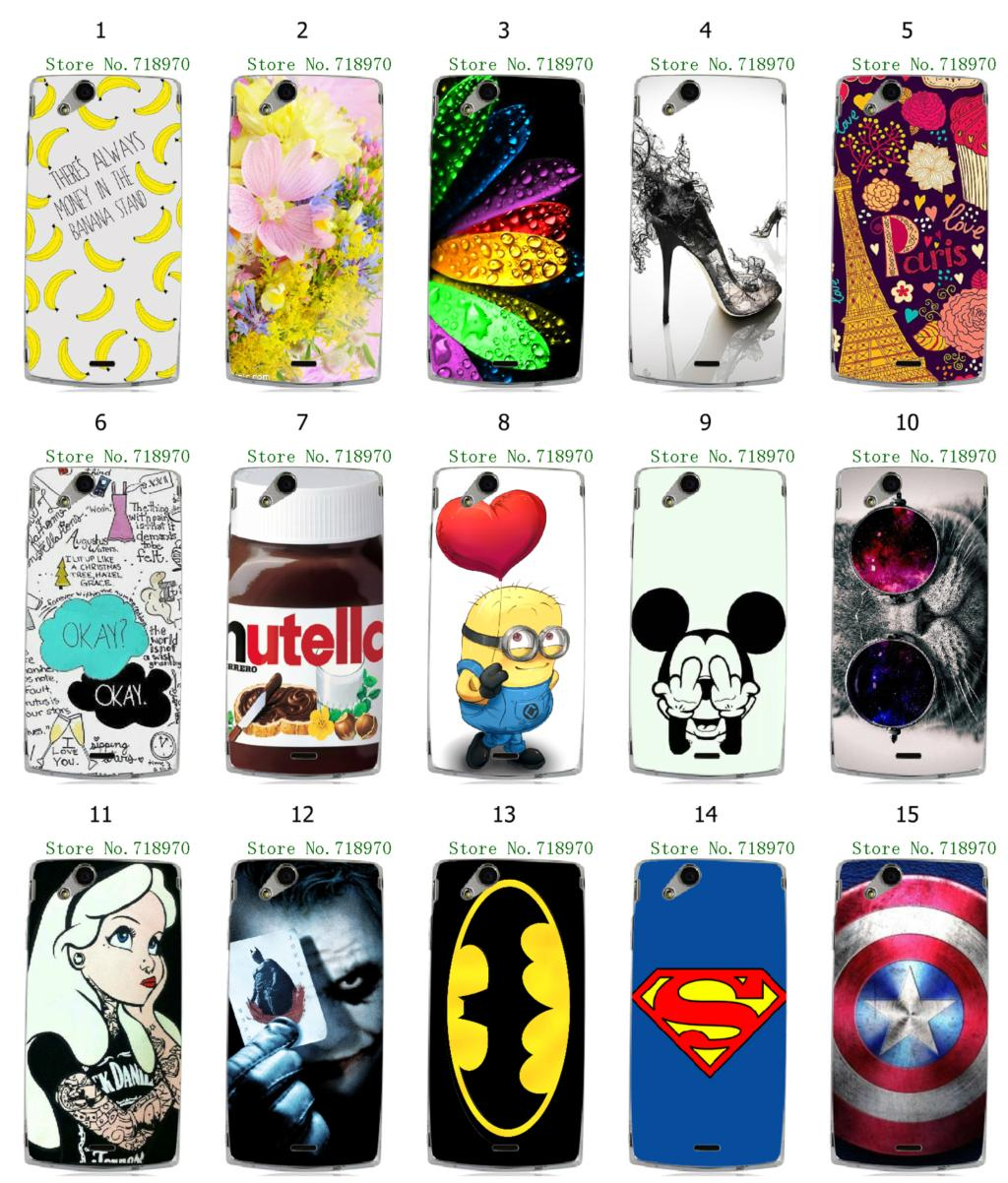 retail batman Captain America 15designs hybrid white hard cover cases for Sony Ericsson X12 LT15i Xperia Arc S LT18i free shipp(China (Mainland))