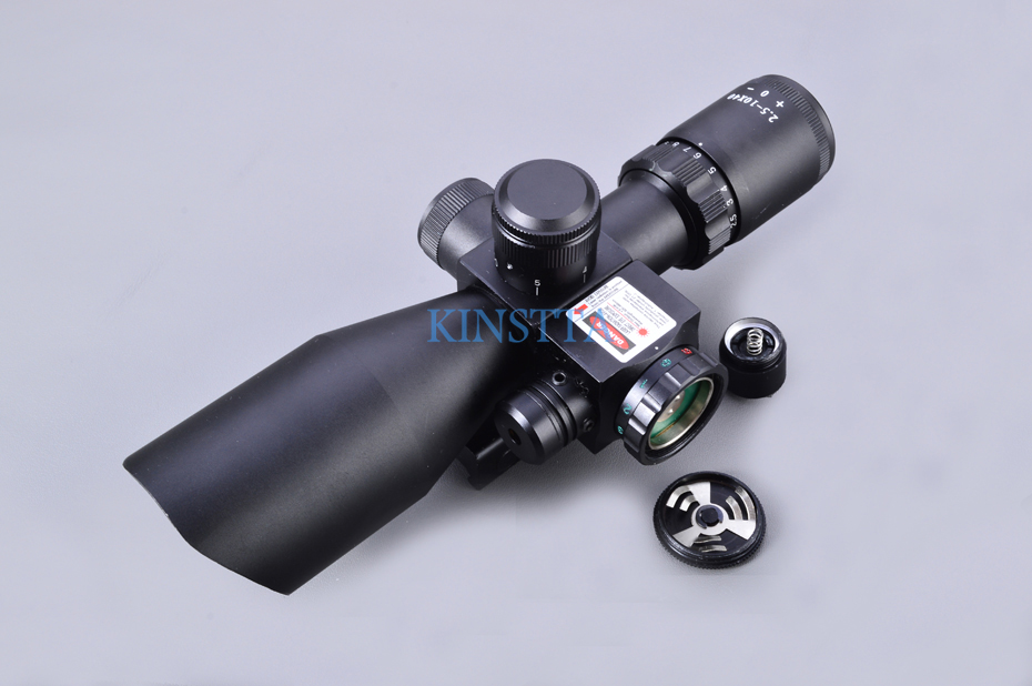Scope with red laser-4