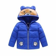 Baby coat Winter jacket boy high quality cotton parkas children clothing boy girls outwear snowsuit infant winter coat kids
