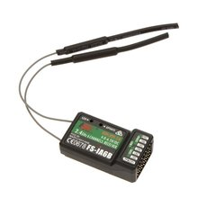 FlySky FS - iA6B 2.4GHz 6CH Receiver PPM Output With IBus Port For Airplane / Glider / Helicopter RC Model Type