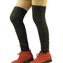 leg warmers for women boot covers solid thigh high leg warmers boot socks women gaiters women calentadores de piernas(China)