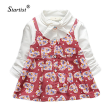 Artishare Baby Girl Dress Spring Baby Dress For Infants Princess Dress Heart Printed Baby Dresses Grils Clothes Vestido Infantil