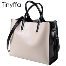 Tinyffa genuine leather bag women designer handbags high quality Dollar prices shoulder bag women messenger bags famous brands(China)