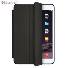 Hot-sale MOSUNX Slim Stand Leather Back Cover Tablet Smart Case For iPad mini 1 2 3 Retina 7.9inch Gifts