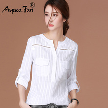 Buy 2018 New Spring Blusas Femininas Camisas Long Sleeve Shirt Women Clothes White Blouse Plus Size Fashion Clothing Chemise Femme for $9.41 in AliExpress store