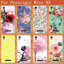 New Popular Painted Patterns Fashion Styles Caes For Prestigio Wize N3 PSP3507DUO / Prestigio Wize M3 PSP3506DUO Silicone Cover