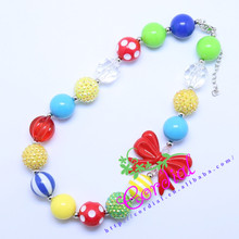 Hot Sell Free Shipping Kids Jewelry DIY Chunky Bubblegum Beads Handmade Necklaces Manufacturer For Amazon Ebay CDNL-410464