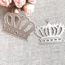 2pc Crown Metal Cutting Dies Stencils DIY Scrapbooking Album Decorative Embossing Folder Suit Paper Cards Die Cutting Template