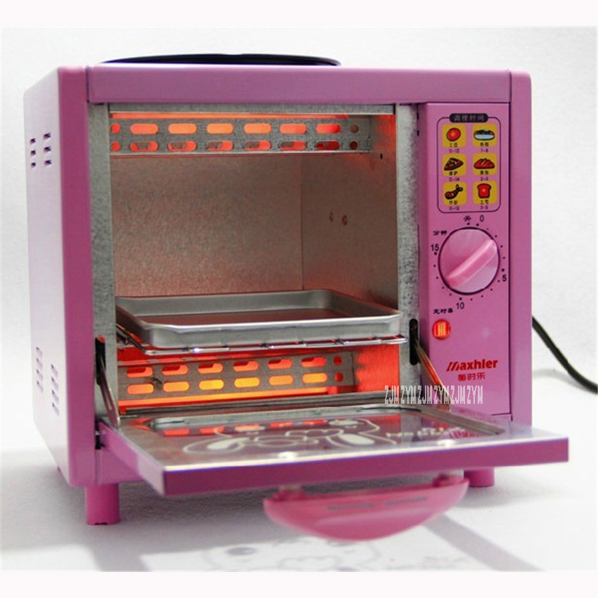 MSL-1028 Hot sale Electric Mini Bakery Oven with timer Breakfast electromechanical oven 12.5L  household multi-function ovens<br>