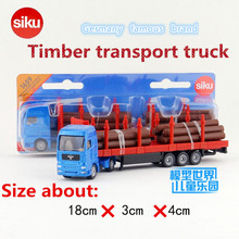SIKU/Die Cast Metal Model/Simulation1:87 Scale toy:MAN Timber transport truck/for children's gift for collection/very small