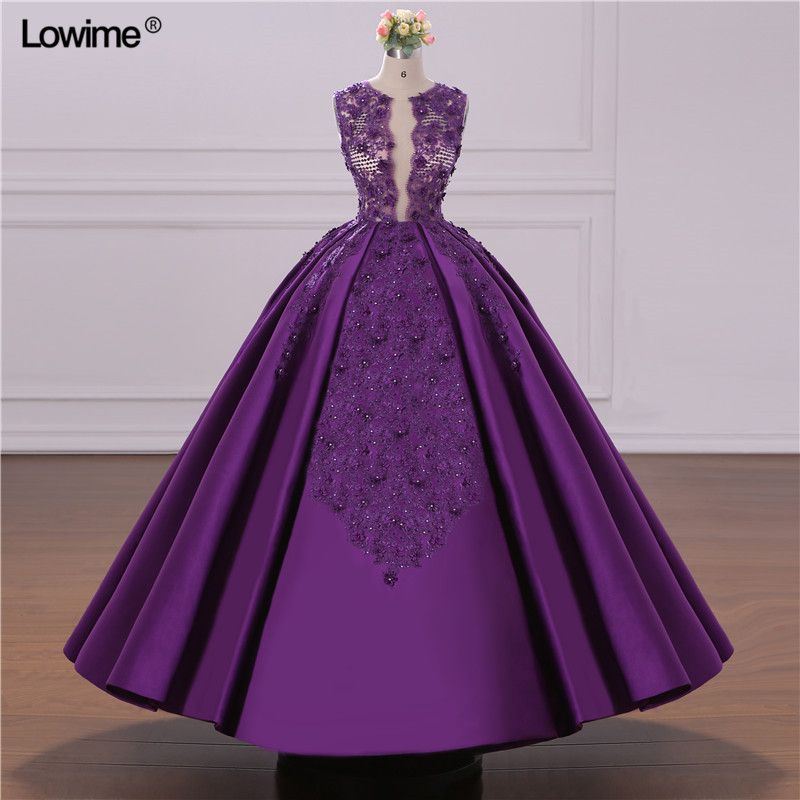 African Ball Gown Evening Dress 2018 Turkish Arabic Dubai Crystal Prom Dress For Wedding Moroccan Kaftan Formal Party Gowns (1)
