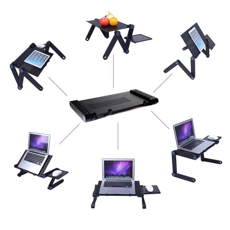 Adjustable and Foldable Stand for Laptop Computers